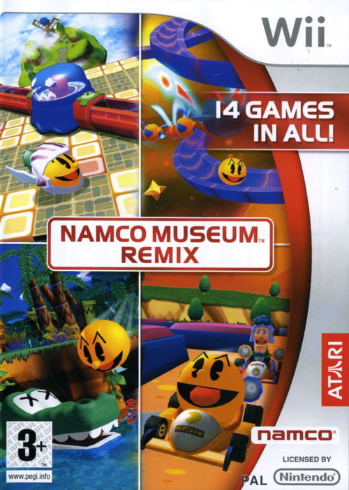 Cover for Namco Museum Remix.
