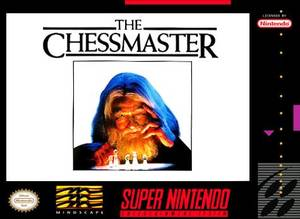 Cover for The Chessmaster.