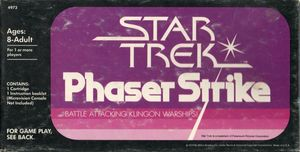 Cover for Star Trek: Phaser Strike.