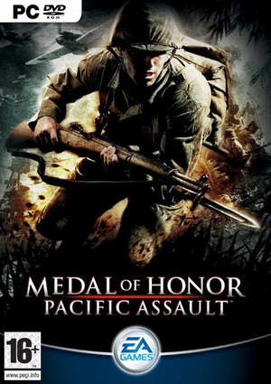 Cover for Medal of Honor: Pacific Assault.