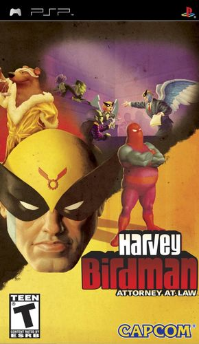 Cover for Harvey Birdman: Attorney at Law.