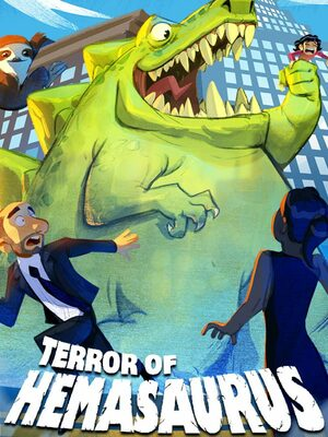 Cover for Terror of Hemasaurus.