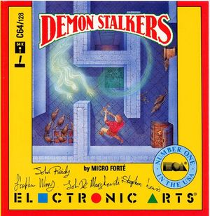 Cover for Demon Stalkers.