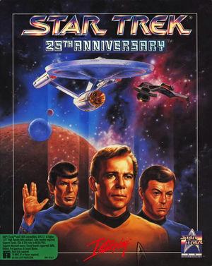 Cover for Star Trek: 25th Anniversary.