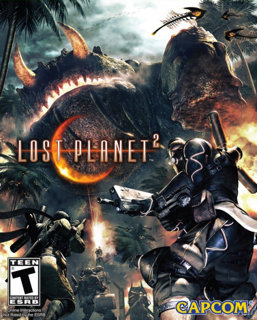 Cover for Lost Planet 2.