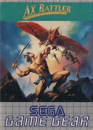 Cover for Ax Battler: A Legend of Golden Axe.
