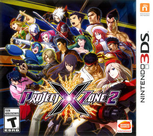 Cover for Project X Zone 2.