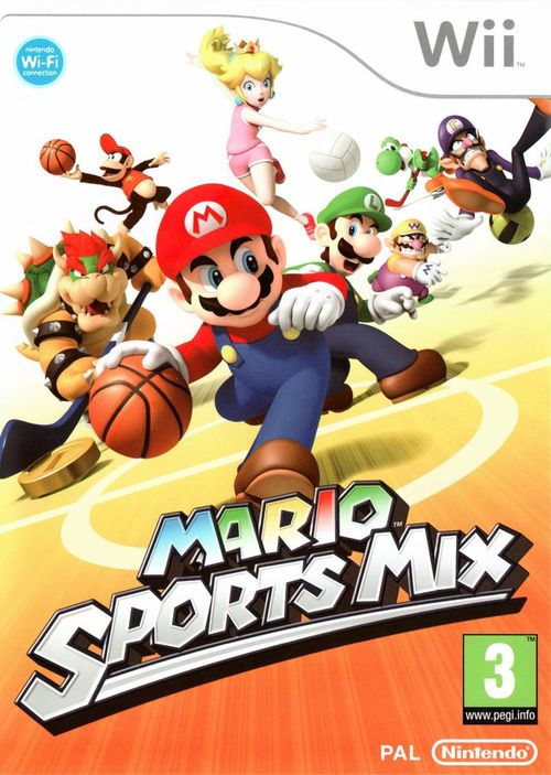 Cover for Mario Sports Mix.