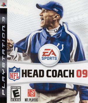 Cover for NFL Head Coach 09.