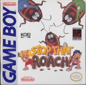 Cover for Stop That Roach!.