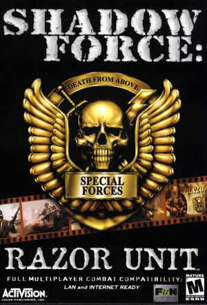 Cover for Shadow Force: Razor Unit.