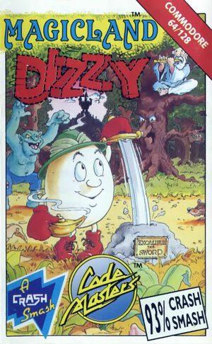 Cover for Magicland Dizzy.