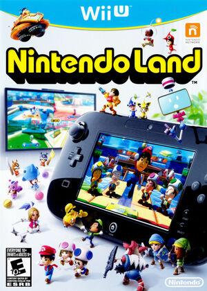 Cover for Nintendo Land.