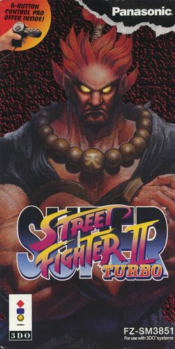Cover for Super Street Fighter II Turbo.