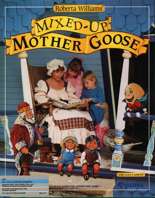 Cover for Mixed-Up Mother Goose.