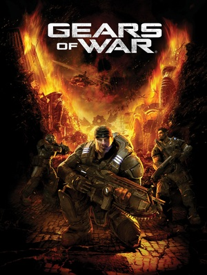 Cover for Gears of War.