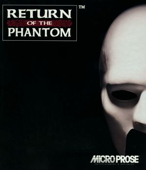 Cover for Return of the Phantom.
