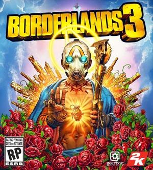 Cover for Borderlands 3.