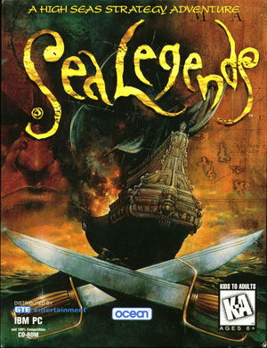 Cover for Sea Legends.