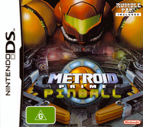 Cover for Metroid Prime Pinball.