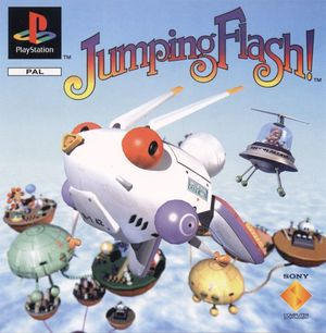 Cover for Jumping Flash!.