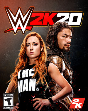 Cover for WWE 2K20.