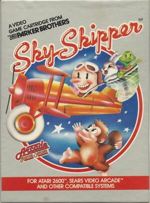 Cover for Sky Skipper.