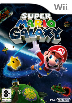 Cover for Super Mario Galaxy.