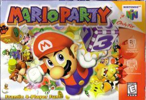 Cover for Mario Party.