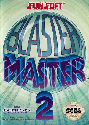 Cover for Blaster Master 2.