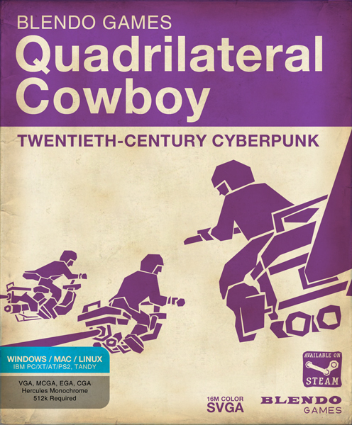 Cover for Quadrilateral Cowboy.