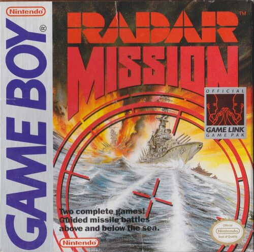 Cover for Radar Mission.