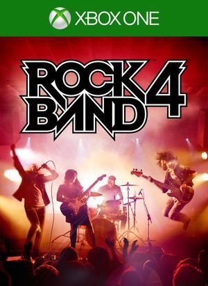 Cover for Rock Band 4.