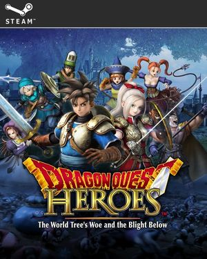 Cover for Dragon Quest Heroes: The World Tree's Woe and the Blight Below.