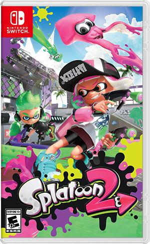 Cover for Splatoon 2.