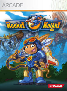 Cover for Rocket Knight.