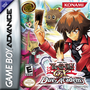 Cover for Yu-Gi-Oh! GX Duel Academy.