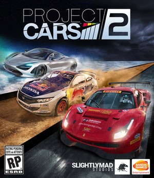 Cover for Project CARS 2.