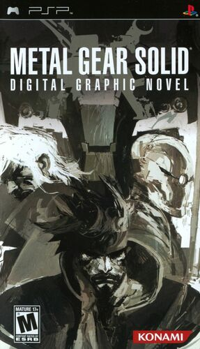 Cover for Metal Gear Solid: Digital Graphic Novel.