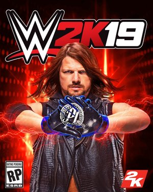 Cover for WWE 2K19.