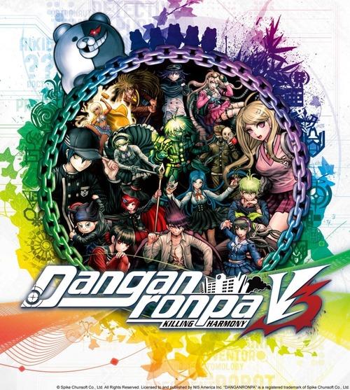 Cover for Danganronpa V3: Killing Harmony.