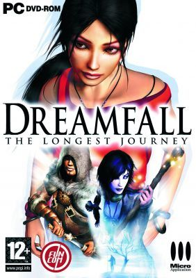 Cover for Dreamfall: The Longest Journey.