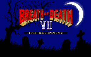 Cover for Breath of Death VII: The Beginning.
