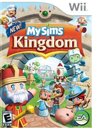 Cover for MySims Kingdom.