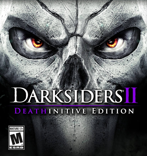 Cover for Darksiders II: Deathinitive Edition.