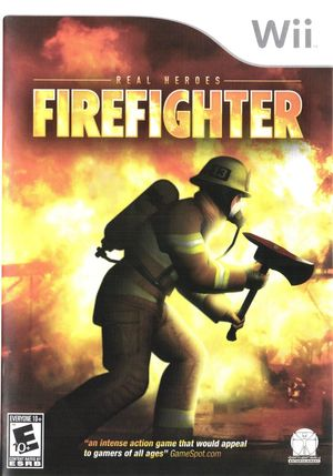 Cover for Real Heroes: Firefighter.