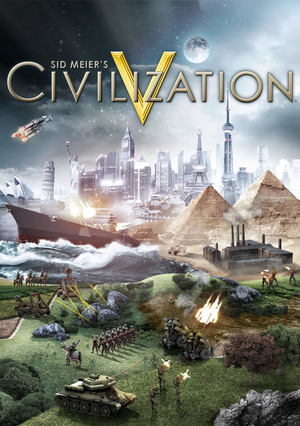 Cover for Civilization V.