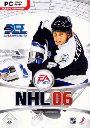Cover for NHL 06.