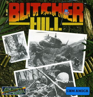 Cover for Butcher Hill.