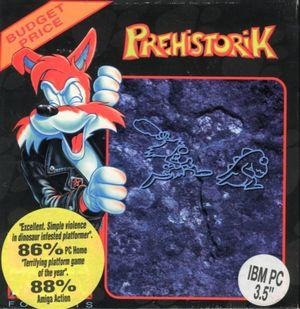 Cover for Prehistorik.